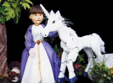 Princesa y Unicornio de El sastrecillo valiente