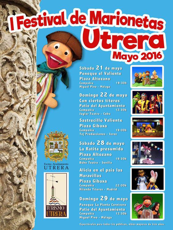 Alicia de Hilando Títeres en el Festival Marionetas Utrera