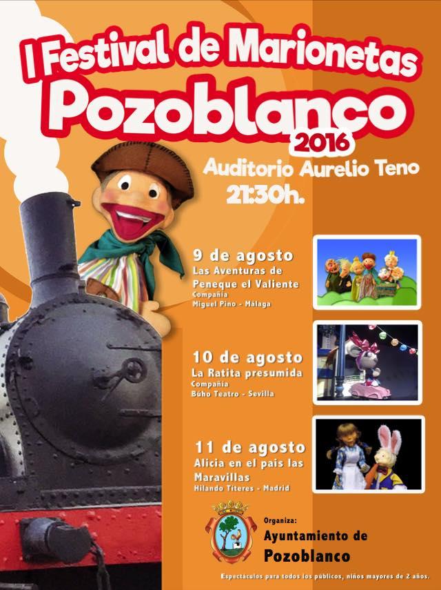 Cartel Festival Pozoblanco