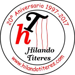 Logo y contacto de la compañía Hilando Títeres