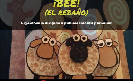 Cartel del espectáculo BEE El rebaño
