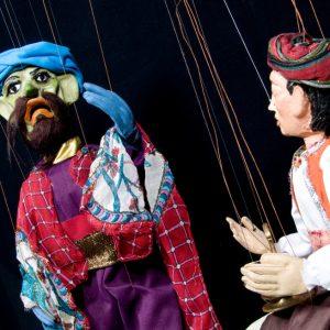 Aladino en la Casa de Cultura de Pedrezuela