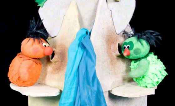 Marionetas del espectáculo de títeres Soliluna