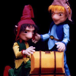 Marionetas Duendes del espectáculo
