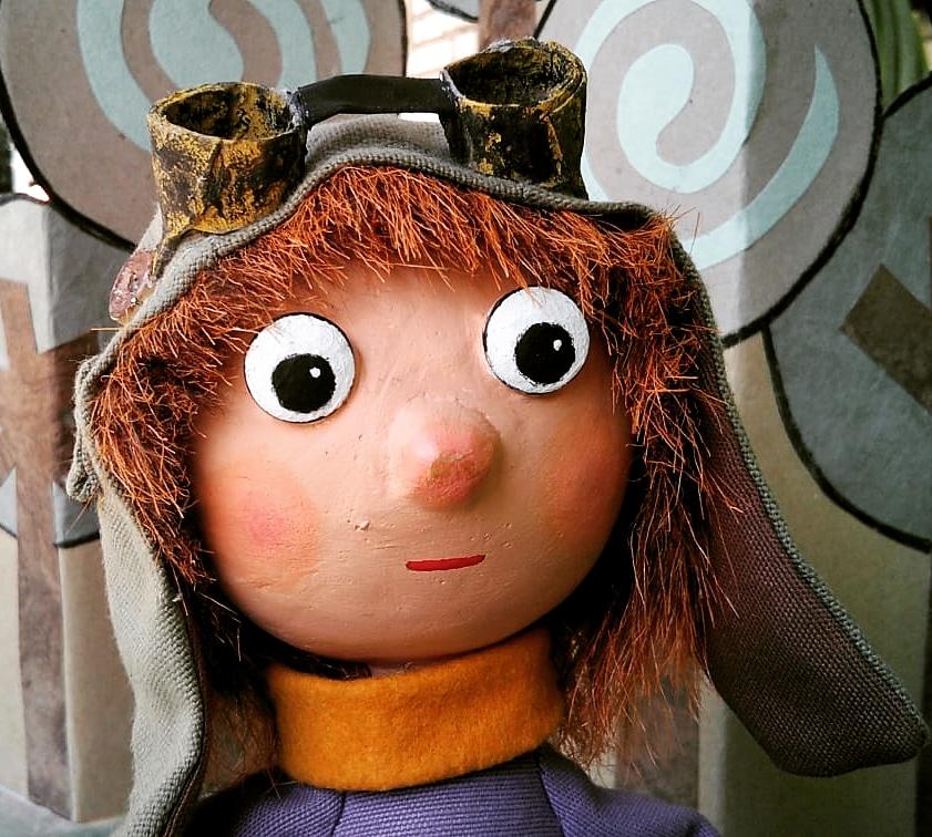 Personaje protagonista del espectáculo BEE El rebaño